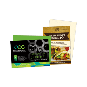Flyers / Mailer Cards A6, 170gsm, Double Sided 105mm x 148mm