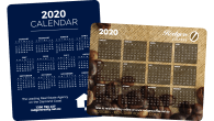 Rounded Corner-97mm x 122mm-Calendar Magnets