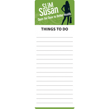 To Do List Magnets Rounded Corner 72mm x 197mm