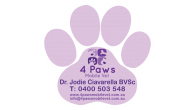 Paw Print-55mm x 52mm-Shaped Magnets