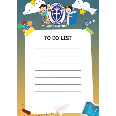 To Do List Magnets Straight Edged 105mm x 148mm
