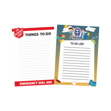 To Do List Magnets Straight Edged 148mm x 210mm