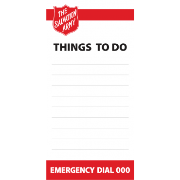 To Do List Magnets Straight Edged 72mm x 147mm