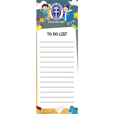 To Do List Magnets Straight Edged 72mm x 197mm