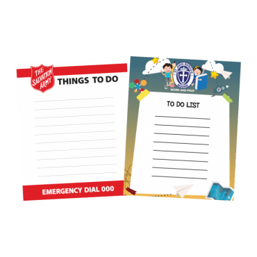 To Do List Magnets Straight Edged 97mm x 122mm