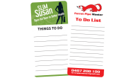 Rounded Corner-72mm x 147mm-To Do List Magnets